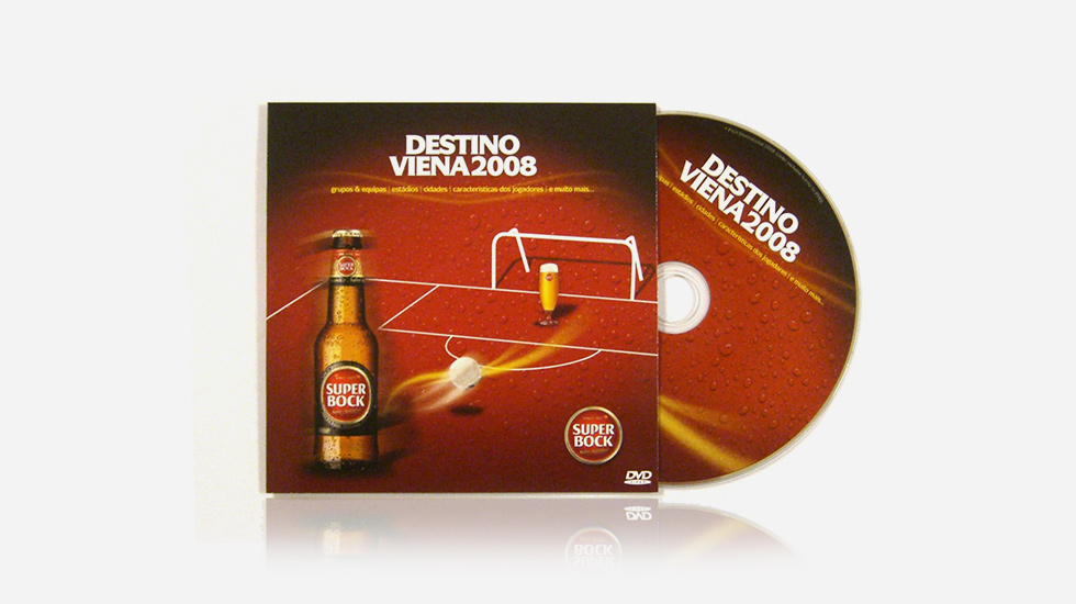 CD Audio / Cartonsleeve - Super bock - Destino Viena 2008
