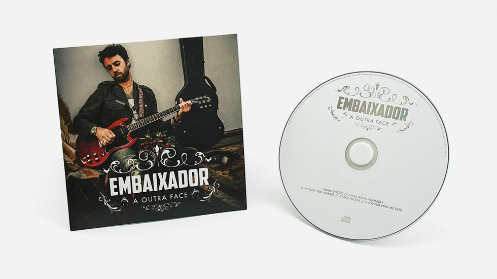 CD Audio / Cartonsleeve - Embaixador - Dupla Face