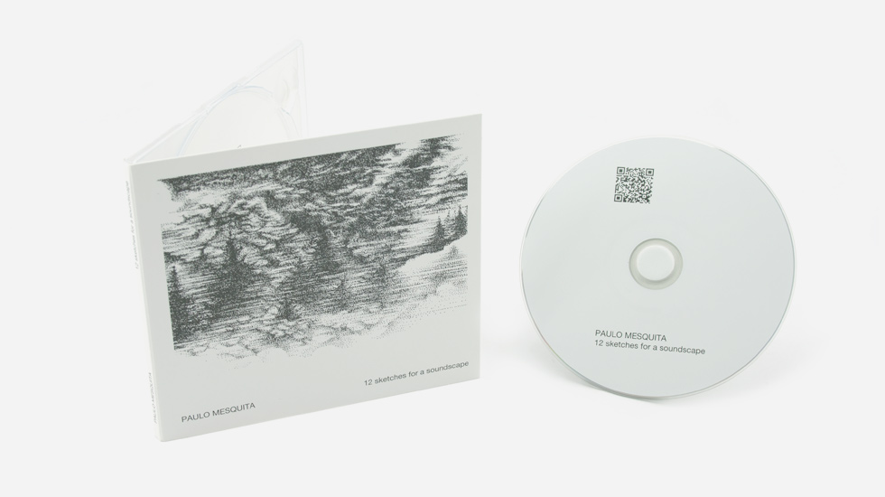 CD Audio / Digipak - Paulo Mesquita - 12 Sketches for a soundscape
