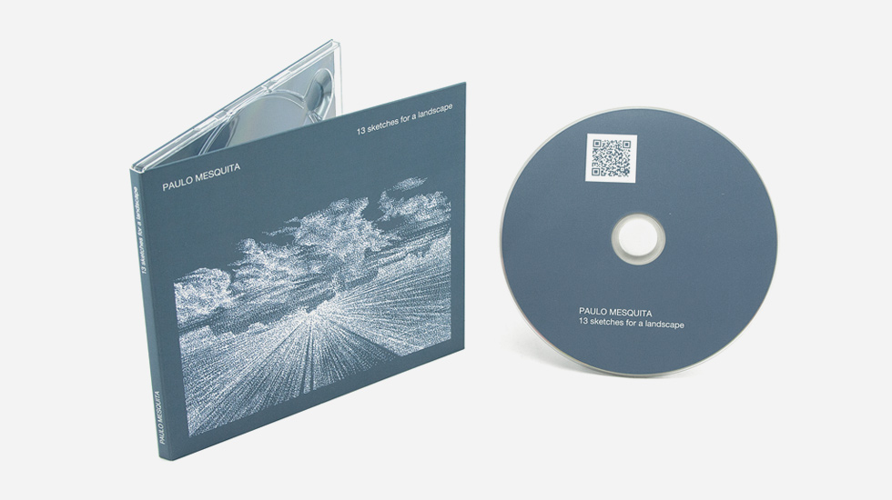 CD Audio / Digipak - Paulo Mesquita - 12 Sketches for a Landscape